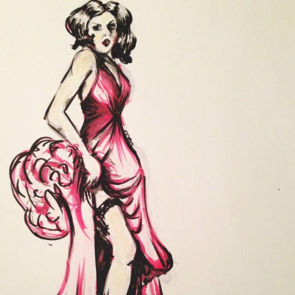 Fashion Illustration | Camilla Kydland | Spy vs Spy